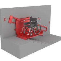 Подъемник для инвалидов наклонный