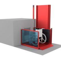 Вертикальный подъемник для людей с инвалидностью