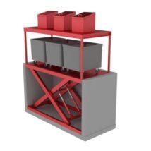 Подъемники для мусорных баков