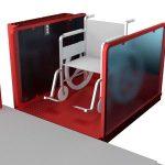 Консольный подъемник для инвалидов